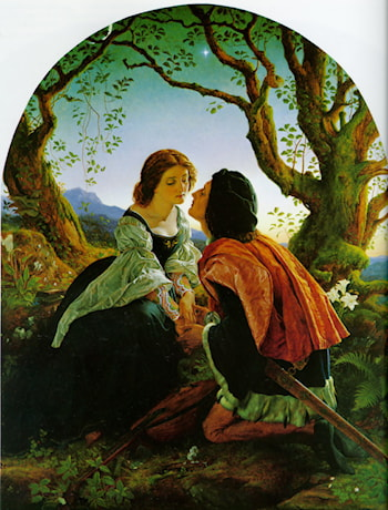 Hesperus, the Evening Star, Sacred to Lovers by Joseph Noel Paton