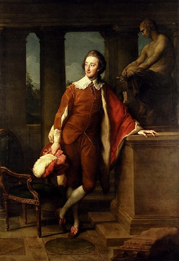 Portrait Of Anthony Ashley­Cooper, 5th Earl Of Shaftesbury (1761­1811) by Pompeo Batoni