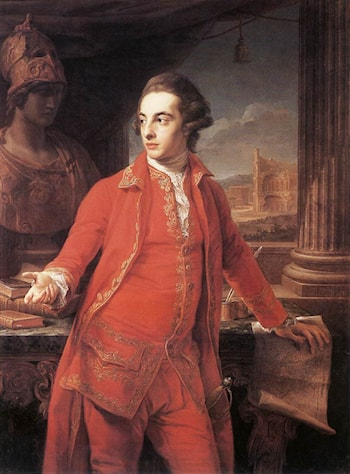 Sir Gregory Page­Turner by Pompeo Batoni