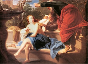 Susanna and the Elders by Pompeo Batoni