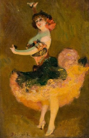 Danseuse de French Cancan by Pierre Bonnaud