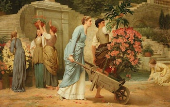 Playing at Work by Charles Edward Perugini