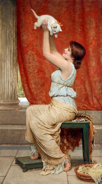 At Play by Charles Edward Perugini