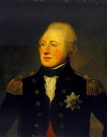 Vice­Admiral Sir Andrew Mitchell, 1757-­1806 by Lemuel Francis Abbott
