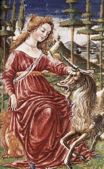 Chastity with the Unicorn by Francesco Di Giorgio Martini