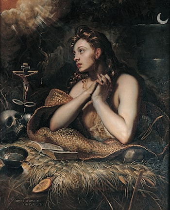 Penitent Magdalene by Domenico Tintoretto