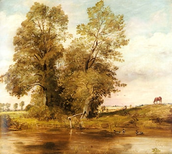 On The Brent by Lionel Constable