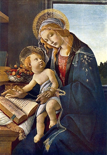 Madonna with the Child by Sandro Botticelli