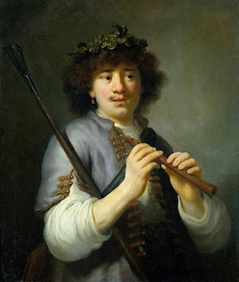 Rembrandt as a Shepherd by Govert Teunisz Flinck