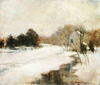 Winter in Cincinnati by John Twachtman