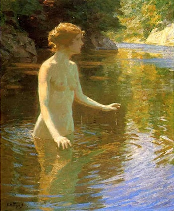 Enchanted Pool by John Twachtman