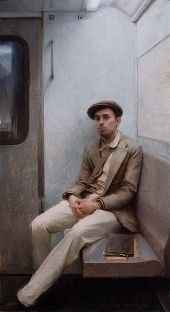 Portrait of the Artist J. Todorovitch by Jeremy Lipking