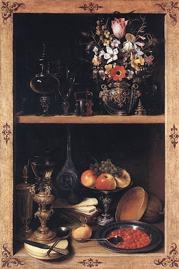 Cupboard by Georg Flegel
