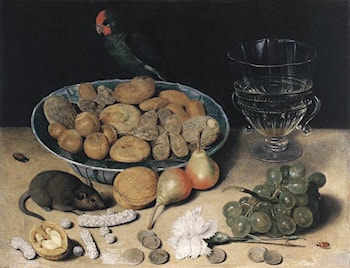 Dessert Still­Life by Georg Flegel