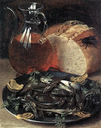 Still­life with Fish by Georg Flegel