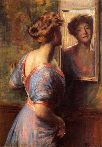 A Passing Glance by Thomas Pollock Anschutz
