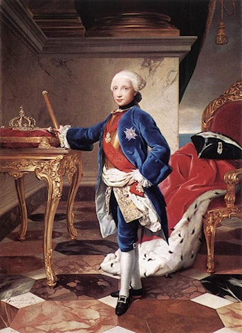 Ferdinand IV, King of Naples by Anton Raphael Mengs