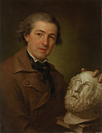 Portrait of a Guiseppe Fanchi (1731 ­ 1806) by Anton Raphael Mengs
