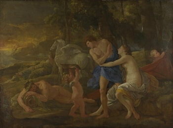 Cephalus and Aurora by Nicolas Poussin