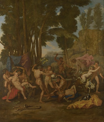 The Triumph of Silenus by Nicolas Poussin