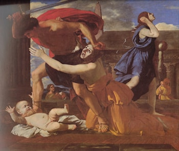 The Massacre of the Innocents by Nicolas Poussin
