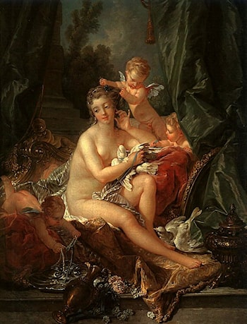 The Toilet of Venus by Francois Boucher
