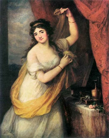 Portrait of a Woman by Angelica Kauffmann