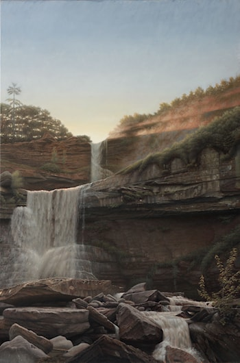 Kaaterskill Waterfalls by Mikel Olazabal