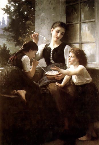Bubbles by Elizabeth Jane Gardner Bouguereau