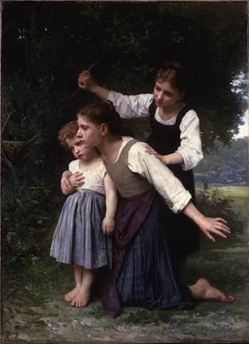 In the Woods by Elizabeth Jane Gardner Bouguereau