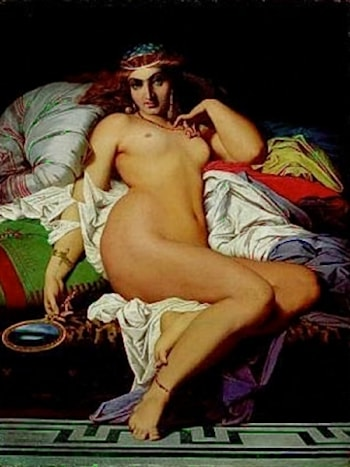 Phryne by Gustave Clarence Rodolphe Boulanger
