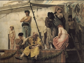 The Slave Market by Gustave Clarence Rodolphe Boulanger