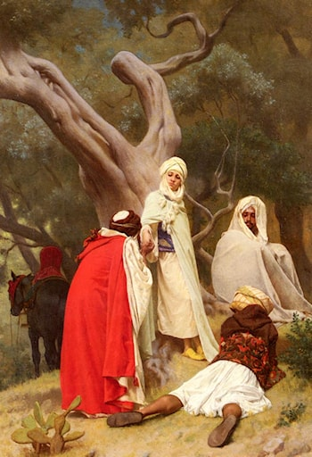 Reception Of An Emir by Gustave Clarence Rodolphe Boulanger