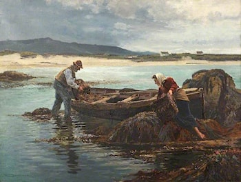 The Dulse Gatherers by William Henry Bartlett