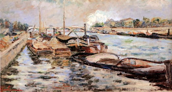 The Seine by Armand Guillaumin
