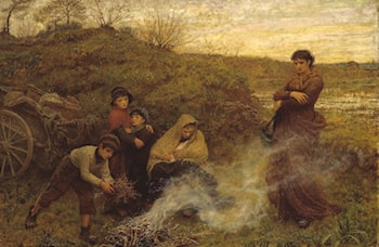 The Vagrants by Frederick Walker