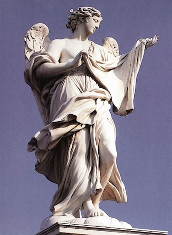 Angel with the Sudarium by Cosimo Fancelli