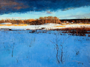 Winter Storm Clearing by Peter Fiore