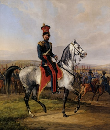 Alexander, Duke of Wurttemberg by Albrecht Adam