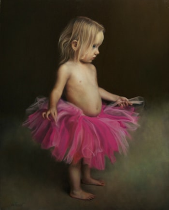Pink Tutu by James Van Fossan
