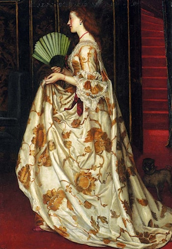 My Lady Betty by Valentine Cameron Prinsep