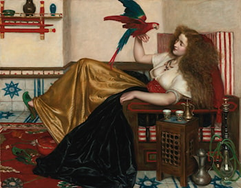 The Lady of the Tooti-Nameh by Valentine Cameron Prinsep