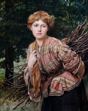 The Gamekeeper's Daughter by Valentine Cameron Prinsep