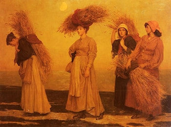 Home From Gleaning by Valentine Cameron Prinsep