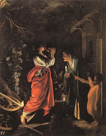Ceres and Stellio by Adam Elsheimer