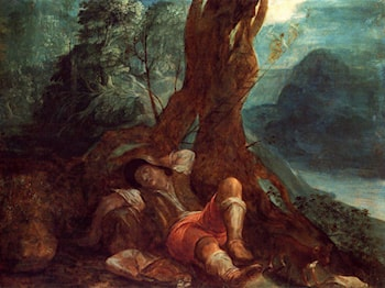 Jacob's Dream by Adam Elsheimer