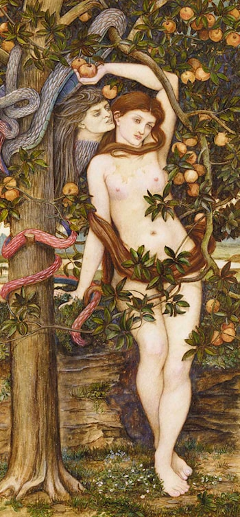 The Temptation of Eve by John Roddam Spencer Stanhope