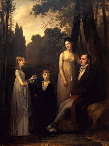 The Schimmelpenninck Family by Pierre-Paul Prud'hon