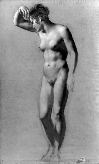 Female Nude by Pierre-Paul Prud'hon