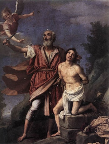 Sacrifice of Isaac by Empoli